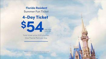 Disney World TV Spot, 'Florida Residents: Summer Fun Ticket' Song by Rex Allen - Thumbnail 7