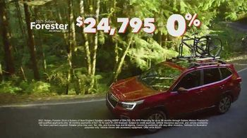Subaru Summer TV Spot, 'The Great Outdoors: Forester' [T2] - Thumbnail 5