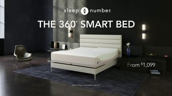 Sleep Number 360 Smart Bed TV Spot, 'Save $1,000 and No Interest' - Thumbnail 1