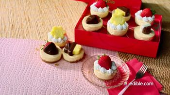Edible Arrangements Fruit-Topped Cheesecake TV Spot, '10 Reasons'