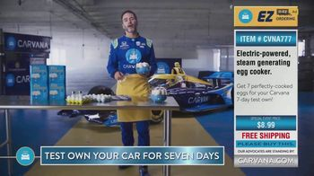 Carvana TV Spot, '7 Day Trial: Hard-Boiled Eggs' Featuring Jimmie Johnson