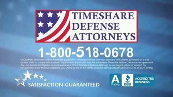 Timeshare Defense Attorneys TV Spot, 'Stop Wasting Money' - Thumbnail 9