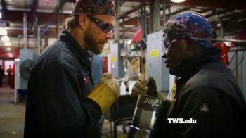 Tulsa Welding School TV Spot, 'Rise Above'