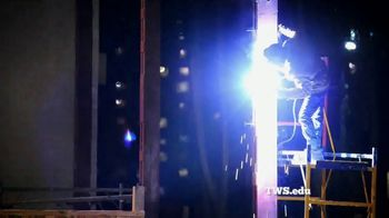 Tulsa Welding School TV Spot, 'Rise Above' - Thumbnail 3