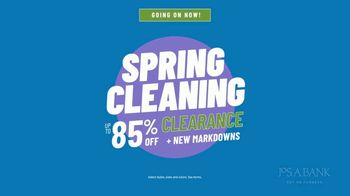 JoS. A. Bank Spring Cleaning Clearance TV Spot, 'We Never Cut Corners' - 197 commercial airings
