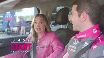 AutoNation Honda Fast Start Sales Event TV Spot, '2020 Fusion' Featuring Alexander Rossi