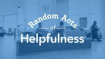 Honda TV Spot, 'Random Acts of Helpfulness: Dealership Surprise' [T2] - Thumbnail 4