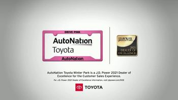 AutoNation Toyota Fast Start Sales Event TV Spot, '2021 Camry LE' Featuring Alexander Rossi - Thumbnail 4