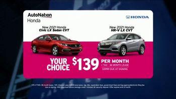 AutoNation Honda Fast Start Sales Event TV Spot, '2021 Civic LX and HR-V LX' Ft. Alexander Rossi - Thumbnail 3