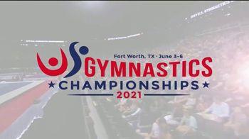 USA Gymnastics TV Spot, '2021 U.S. Gymnastics Championships' - Thumbnail 1