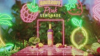 Smirnoff Pink Lemonade TV Spot, 'The Pink You've Been Waiting For' Song by Missy Elliott - Thumbnail 1