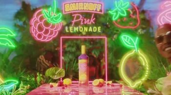 Smirnoff Pink Lemonade TV Spot, 'The Pink You've Been Waiting For' Song by Missy Elliott - Thumbnail 6