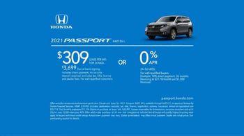 2021 Honda Passport TV Spot, 'Smart and Capable' [T2] - Thumbnail 8