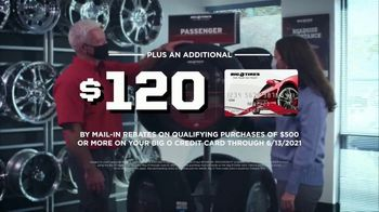 Big O Tires TV Spot, 'Get Up to $70 Back, Plus an Additional $120 in Rebates' - Thumbnail 4