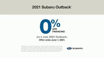 2021 Subaru Outback TV Spot, 'Adventurous Heart' [T2] - Thumbnail 6