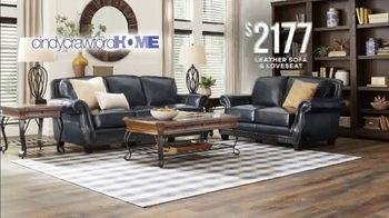 Rooms to Go Memorial Day Sale TV Spot, 'Cindy Crawford Home Classic Leather Sofa & Loveseat' - Thumbnail 3