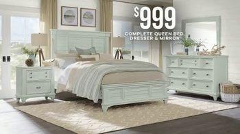 Rooms to Go Memorial Day Sale TV Spot, 'Classic Coastal Bedroom Set' - Thumbnail 5