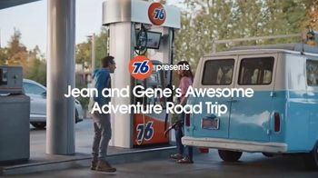 76 Gas Station TV Spot, 'Jean and Gene's Awesome Adventure Road Trip: Fill Up' - Thumbnail 1