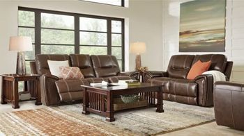 Rooms to Go Memorial Day Sale TV Spot, 'Leather Two-Piece Sofa Set' - Thumbnail 4
