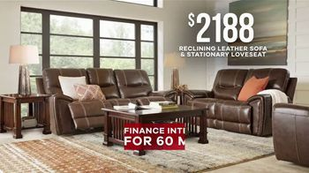 Rooms to Go Memorial Day Sale TV Spot, 'Leather Two-Piece Sofa Set' - Thumbnail 5