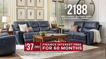 Rooms to Go Memorial Day Sale TV Spot, 'Leather Two-Piece Sofa Set' - Thumbnail 6