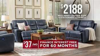 Rooms to Go Memorial Day Sale TV Spot, 'Leather Two-Piece Sofa Set' - Thumbnail 7