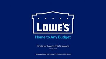 Lowe's TV Spot, 'Memorial Day: Paint and Stain' - Thumbnail 10
