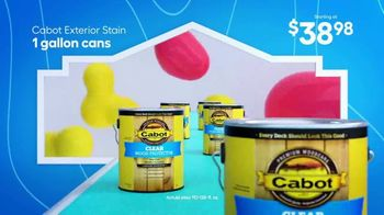 Lowe's TV Spot, 'Memorial Day: Paint and Stain' - Thumbnail 7