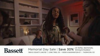 Bassett Memorial Day Sale TV Spot, 'Just a Sofa: Save 30%' - Thumbnail 3