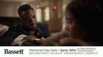 Bassett Memorial Day Sale TV Spot, 'Just a Sofa: Save 30%' - Thumbnail 4