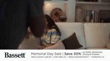 Bassett Memorial Day Sale TV Spot, 'Just a Sofa: Save 30%' - Thumbnail 5