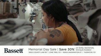 Bassett Memorial Day Sale TV Spot, 'Just a Sofa: Save 30%' - Thumbnail 6