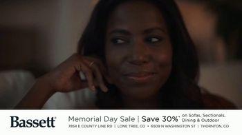 Bassett Memorial Day Sale TV Spot, 'Just a Sofa: Save 30%' - Thumbnail 7