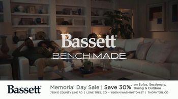 Bassett Memorial Day Sale TV Spot, 'Just a Sofa: Save 30%' - Thumbnail 8