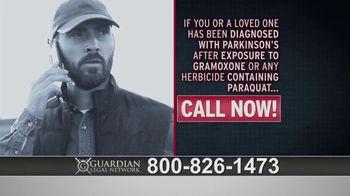 Guardian Legal Network TV Spot, \'Gramoxone and Paraquat Lawsuit\'