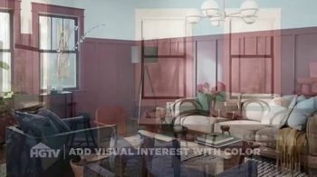HGTV HOME by Sherwin-Williams TV Spot, 'Visual Interest' - Thumbnail 1