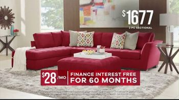 Rooms to Go Memorial Day Sale TV Spot, 'Find Your Perfect Sectional' - Thumbnail 4
