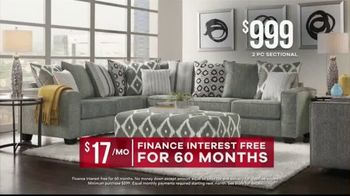 Rooms to Go Memorial Day Sale TV Spot, 'Find Your Perfect Sectional' - Thumbnail 5