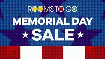 Rooms to Go Memorial Day Sale TV Spot, 'Complete Queen Bed, Dresser & Mirror' - Thumbnail 3