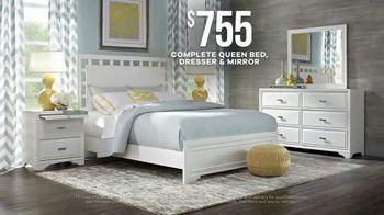 Rooms to Go Memorial Day Sale TV Spot, 'Complete Queen Bed, Dresser & Mirror' - Thumbnail 5
