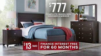 Rooms to Go Memorial Day Sale TV Spot, 'Complete Queen Bed, Dresser & Mirror' - Thumbnail 8