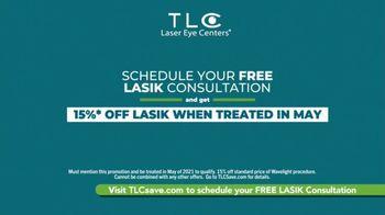 TLC Vision TV Spot, 'Free Consultation in May' - Thumbnail 9