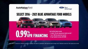 AutoNation Ford Fast Start Sales Event TV Spot, 'Blue Advantage Ford Models' Ft. Alexander Rossi - Thumbnail 4