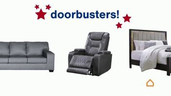 Ashley HomeStore Memorial Day Sale TV Spot, 'Doorbusters or 0% Interest for 6 Years' - Thumbnail 3