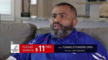 Stephen Siller Tunnel to Towers Foundation TV Spot, 'Carlos Figueroa'
