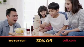 COIT TV Spot, 'Time Indoors: 30% Off' - Thumbnail 3