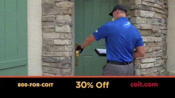 COIT TV Spot, 'Time Indoors: 30% Off' - Thumbnail 4