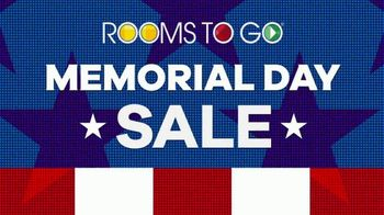 Rooms to Go Memorial Day Sale TV Spot, 'Dining Sets' - Thumbnail 3