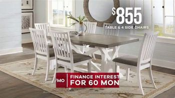Rooms to Go Memorial Day Sale TV Spot, 'Dining Sets' - Thumbnail 5