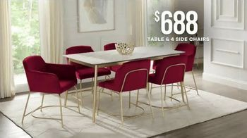 Rooms to Go Memorial Day Sale TV Spot, 'Modern Dining Set' - Thumbnail 6
